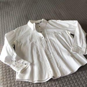 ❤️Chico's Platinum Button Down Shirt